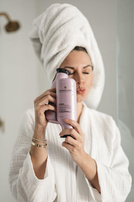 Pureology hydrate shampoo and conditioner #beauty  #LTKbeauty