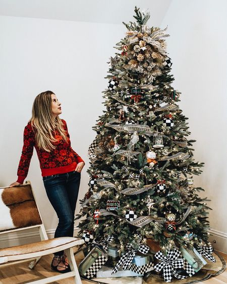 Too soon? 🎄 // Imagine how we felt preparing for this @mackenziechilds catalog shoot in AUGUST. // Read all about our #MacKenzieChilds Christmas tree being featured (freaking out a little bit 🙈) #todayonTKC! // http://liketk.it/2tpkw #liketkit @liketoknow.it @liketoknow.it.home #LTKholidayathome #LTKholidaystyle #LTKhome