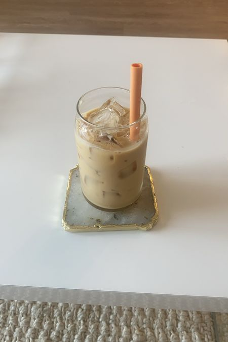 the best glasses for iced coffee!! 10/10 recommend   #LTKhome