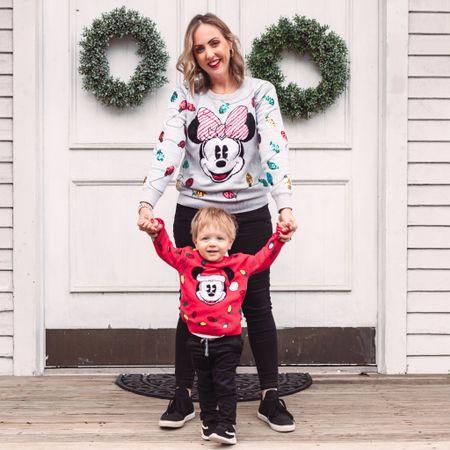 Family Disney Christmas sweaters! #liketkit http://liketk.it/33o38 @liketoknow.it