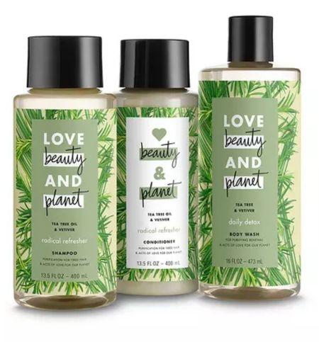 Love Beauty & Planet hair care.  #LTKunder50 #LTKbeauty #LTKfamily