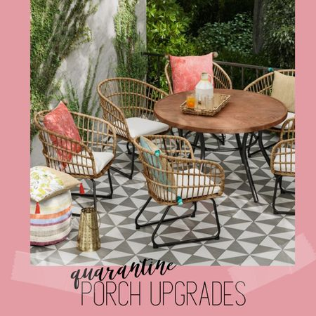Sale patio furniture! Spruce up your outdoor space for quarantining in style 🌸✨ http://liketk.it/2NhPZ @liketoknow.it #liketkit #LTKhome #LTKsalealert #StayHomeWithLTK