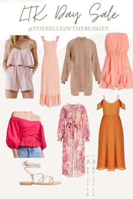 #LTKday sale - summer outfits, colorful style, wedding guest dress   #LTKsalealert #LTKunder100 #LTKwedding