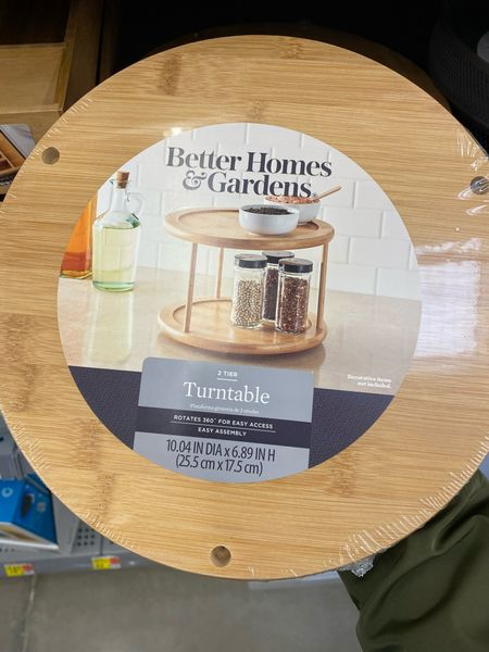 Walmart Finds || Kitchen Turntable    #LTKunder50 #LTKhome #StayHomeWithLTK