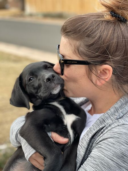 This guy just became a student! He's going to be in training until he turns 1 to become a therapy dog. Dakota is so lovable and such a good puppy that we wanted to get him started early and acclimate him early on with strangers and new places. Seriously though, who doesn't love puppy kisses and snuggles?! 🐶   #LTKunder50