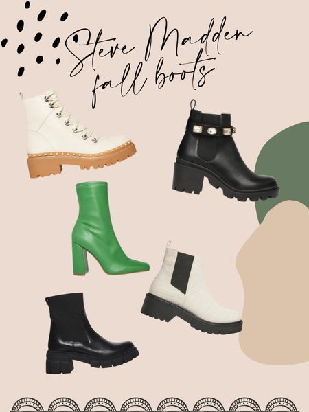 the most perfect Steve Madden boots for fall time!! one for every occasion 🙌🏼  #LTKSeasonal #LTKSale #LTKshoecrush