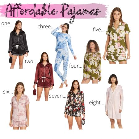 Sharing some new affordable pajamas over on my blog today! Plus, they are all on sale right now! Check it out!  What's your favorite place to buy pajamas? #targetstyle #affordablepajamas    #LTKstyletip #LTKunder50 #LTKsalealert @liketoknow.it.home Shop your screenshot of this pic with the LIKEtoKNOW.it shopping app http://liketk.it/37uVD #liketkit @liketoknow.it