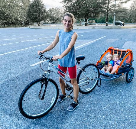 Our summer ride! 🚲 I snagged this roadmaster bike from Walmart and the instep double tow behind bike trailer from Amazon.  I found similar bike trailers from target & Walmart and linked them.  I also found this really cool tag along bike for older kids.   #LTKkids #LTKfamily #LTKtravel