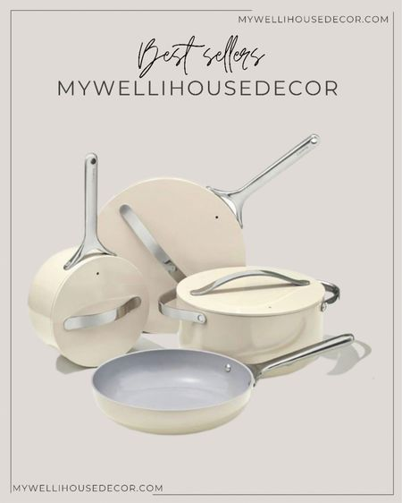 This cookware set will seriously change the way you cook, add off course the way you kitchen looks! Not only are they functional, they are super stylish and comes in different colors!   #LTKhome #LTKsalealert