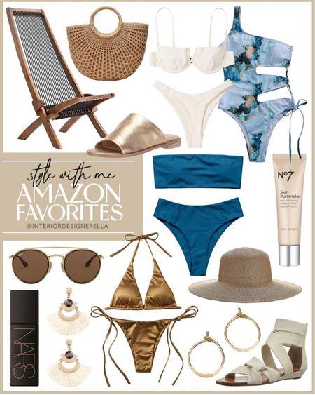 Amazon finds! Click below to shop Amazon fashion! Follow me @interiordesignerella for more amazon fashion!!! So glad you're here! Xo!!!❤️🥰👯♀️🌟 #liketkit @liketoknow.it http://liketk.it/3if8T #LTKunder100 #LTKunder50 #LTKswim