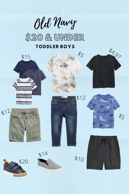 Old Navy Toddler Boy outfit ideas 💙 everything linked costs under $20!!!! http://liketk.it/3juY8 #liketkit @liketoknow.it #LTKbaby #LTKkids #LTKunder50