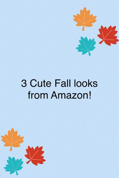 Cute fall outfits from Amazon. Wearing an XL in both dresses and skirt.
