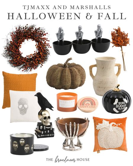 I am loving these Halloween & fall home finds from Tjmaxx & Marshalls!! They would be the perfect addition to your home fall decor! 🍁  Skeleton, berry stem, wreath, skull, fall candle, Velvet pillow, Pumpkin, vase, crow, Bats, black candles, black Decor, seasonal Decor, fall decorations, black-and-white decor, pumpkin Dutch oven, pumpkin Kitchen Decor, black decor, white Decor, black kitchen, white kitchen, skeleton, orange candle, orange decor, flower pot, shelf decor,  #LTKSeasonal #LTKhome #LTKstyletip