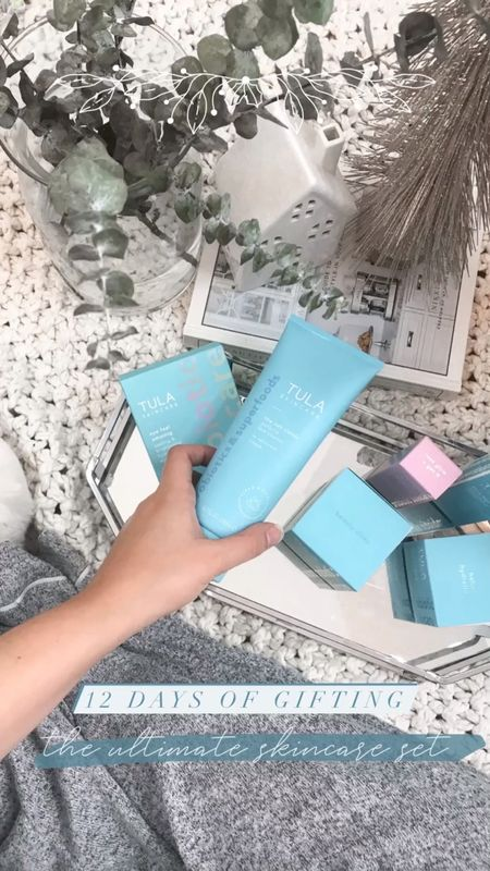 The perfect gift for the beauty love: Tula gifts sets! They are such an amazing value, especially if you use my code 15KYLIE for ANOTHER 15% off!   #StayHomeWithLTK #LTKbeauty #LTKgiftspo