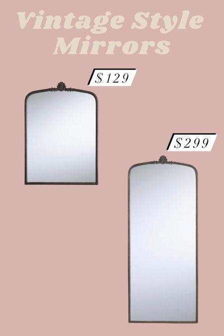 Vintage look mirrors!   #LTKhome