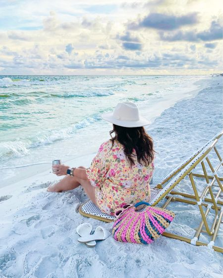 Beach chairs linked here. My outfit and accessories are from 30A Mama #liketkit @liketoknow.it http://liketk.it/3iROd #LTKtravel #LTKswim #LTKhome
