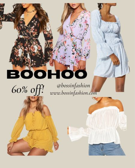 It's LTK sale day with BooHoo 60% off! Shop my favorite top and rompers from Boohoo right now! #summerotd #rompers #white #ltkday #ltkseasonal #boohoo http://liketk.it/3hyVj  #liketkit @liketoknow.it #LTKsalealert #LTKunder100 You can instantly shop all of my looks by following me on the LIKEtoKNOW.it shopping app