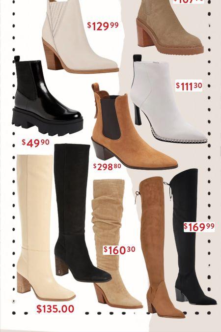Nordstrom sale boot/booties / fall style / sale alert   #LTKsalealert #LTKSeasonal #LTKshoecrush