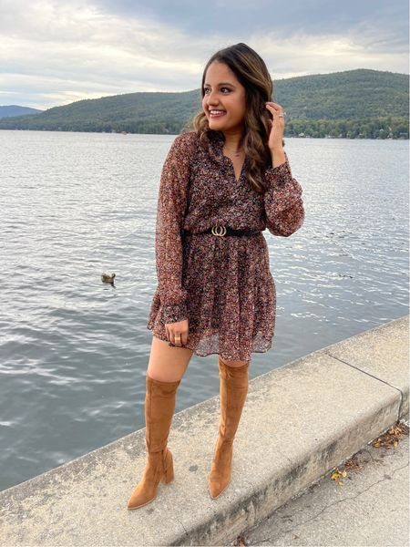 Perfect fall dress '  #LTKtravel #LTKSeasonal #LTKunder100