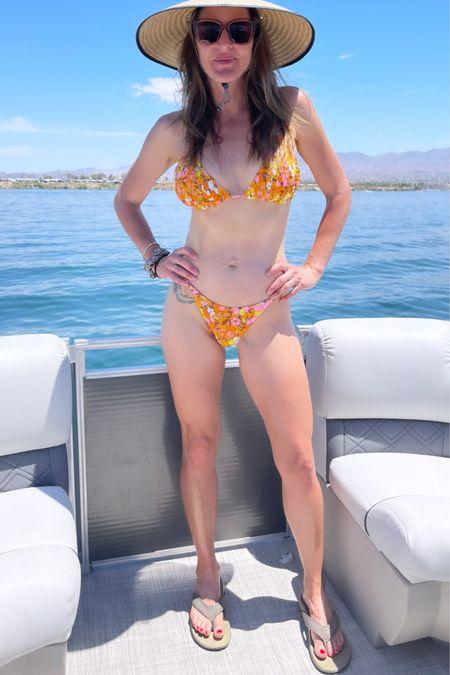 Teeny bikinis and comfort flip flops are my jam this summer @liketoknow.it #liketkit http://liketk.it/3jf3P