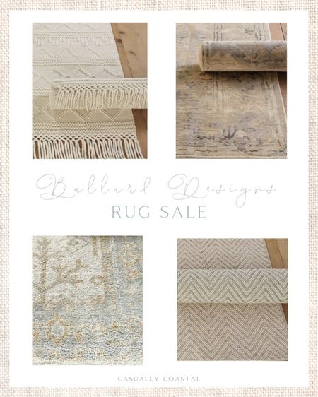 Ballard Designs is having a sale on all of their rugs - up to 20% off! I'm loving these very neutral rugs for a coastal home! - Neutral rugs, neutral area rugs, Ballard Designs rugs, rugs on sale, area rugs on sale,rugs with fringe, wool rugs, woven rugs, 5x7 rugs, 8x10 rugs, runners, 3x5 rugs, home decor, coastal decor, beach house decor, beach house furniture, beach decor, beach style, coastal home, coastal home decor, coastal decorating, coastal interiors, coastal house decor, beach style, neutral home decor, neutral home, natural home decor, coastal rugs  #LTKsalealert #LTKhome
