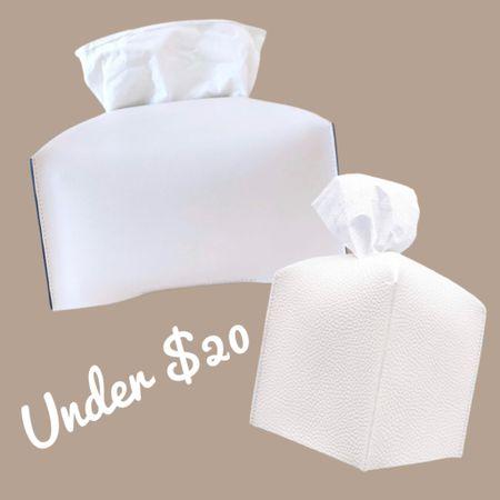 Chic tissue box Kleenex box covers   #LTKunder50 #LTKhome #LTKfamily