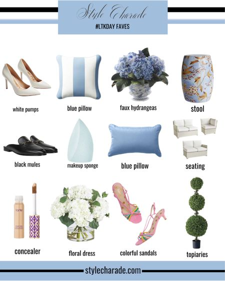 #LTKDay  picks are here! Save on home, fashion, jewelry, accessories and more from Frontgate, Tarte, Boden, and Sam Edelman! #liketkit http://liketk.it/2SDN7 @liketoknow.it #LTKhome #LTKsalealert