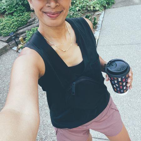 Fanny pack is essential! @liketoknow.it http://liketk.it/3hF91 #liketkit #LTKunder50 #LTKfit