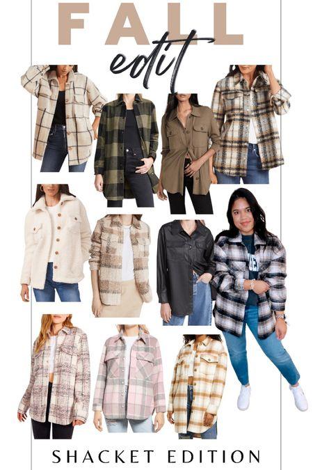 Fall style / fall trends / Shacket / shirt jacket / fall outfit    #LTKunder100 #LTKstyletip #LTKSeasonal