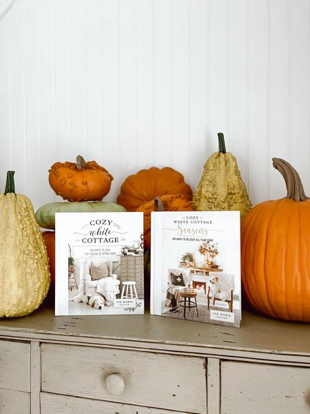 Fall is one of my favorite seasons! This fall my new book, Cozy White Cottage is released!   #LTKhome #LTKSeasonal