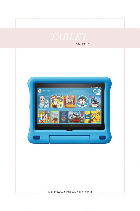Kids tablet on sale! This is the best for flights with Cal! Super helpful and there are many shows + games. Great for traveling!   #LTKsalealert #LTKtravel #LTKkids