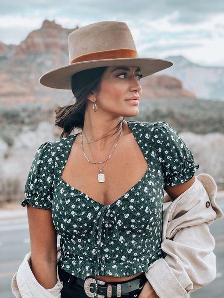 Lack of Color Tri Blend Brown Hat 🤠 in Sedona, Arizona http://liketk.it/38man #liketkit @liketoknow.it