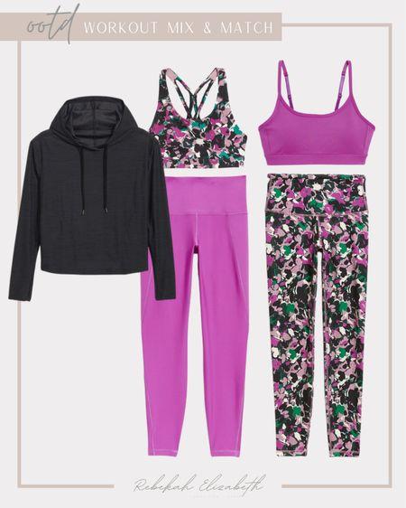 Plus size bold & bright mix & match workout inspo 💕🖤 #rebekahelizfit #rebekahelizstyle  #LTKcurves #LTKunder50 #LTKfit