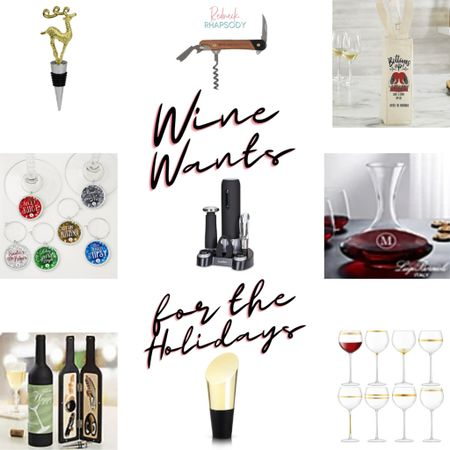 Looking for the perfect gift for someone who is a wine enthusiast? Here are several that can come in under the budget of $20 on most. Have fun, keep it merry & bright! Cheers y'all! @liketoknow.it http://liketk.it/33ezA #liketkit #StayHomeWithLTK  #LTKunder50 @liketoknow.it.home Shop your screenshot of this pic with the LIKEtoKNOW.it shopping app