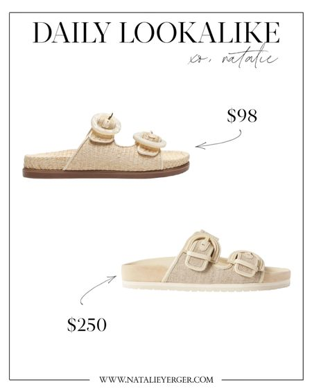 Slide sandals look for less. I have the Vince slides in white, but these Schutz slide sandals are adorable and such a steal!    #slidesandals #lookforless #vinceglynslides #nordstromsandals #bucklesandals #buckleslides #sandalsunder100 #slidesandal  #LTKSeasonal #LTKshoecrush #LTKunder100