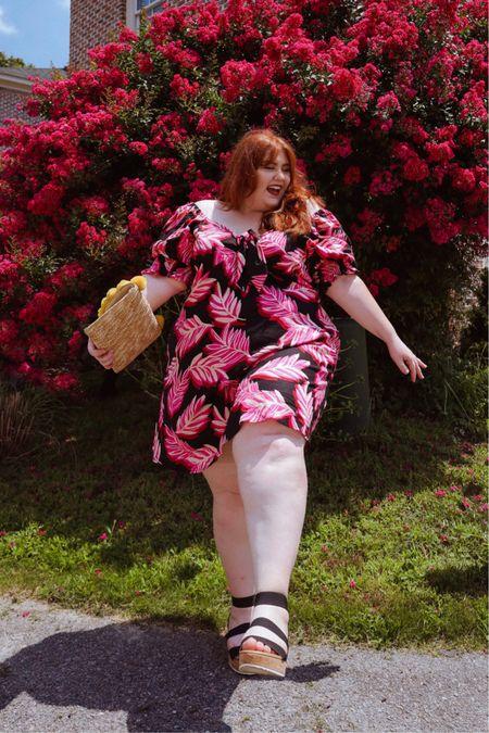 This dress is my new fav🌸🌺💕  #LTKcurves #LTKunder50 #LTKstyletip