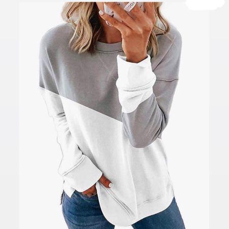 Cute sweatshirt http://liketk.it/3gXgq #liketkit @liketoknow.it #LTKunder50 #LTKstyletip #LTKfamily You can instantly shop my looks by following me on the LIKEtoKNOW.it shopping app