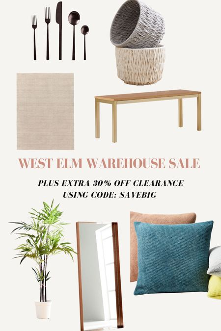 West Elm Warehouse Sale + extra 30% off using code: SAVEBIG http://liketk.it/3gkJU #liketkit @liketoknow.it #LTKhome @liketoknow.it.home Shop your screenshot of this pic with the LIKEtoKNOW.it shopping app
