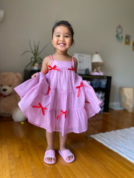 Cute toddler dresses for summer  Bow dress, tiered dress  #LTKunder50 #LTKkids #LTKSeasonal
