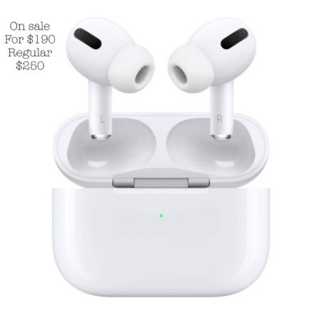 AirPods on sale for $190 at target! Normally $250 @liketoknow.it #liketkit http://liketk.it/3hZxV