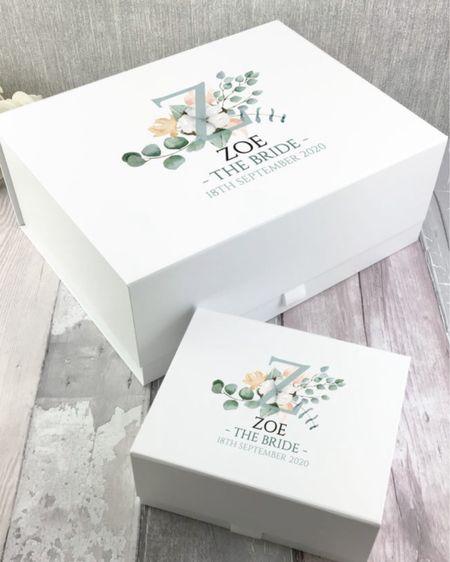 Personalized bride boxes by TheGiftArtisans on Etsy!   http://liketk.it/3jarH  @liketoknow.it #liketkit #LTKstyletip #LTKunder50 #LTKhome