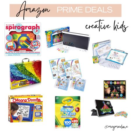 Amazon prime day deals for kids who love to draw, color and be creative!   #LTKfamily #LTKkids #LTKunder50