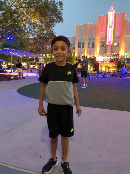 Friday night fun out with the family. Little man was ready to play on the Lawn. This Nike set is comfortable and stylish. #Nike #NikeKids #NikeSets   #LTKkids #LTKfamily #LTKunder100