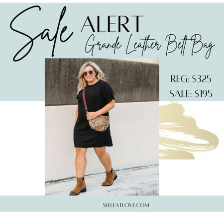 This amazing leather belt bag is on sale!! This was one of the top sellers during the Nordstrom Anniversary Sale!   #beltbag #crossbody #leather #clarev   #LTKstyletip #LTKsalealert #LTKitbag