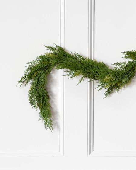 Garlands I purchased! They are selling out so fast, cannot even believe it.   #LTKhome #LTKHoliday #LTKSeasonal