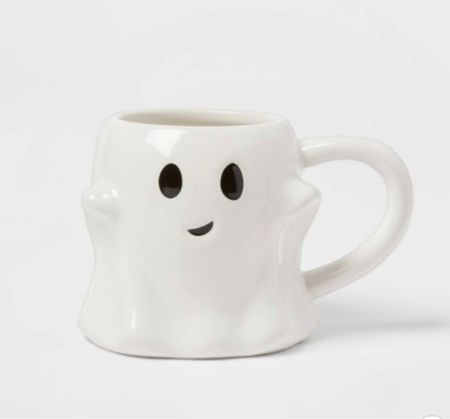 Halloween, target finds, Halloween decor, Halloween mug, ghost mug  #LTKSeasonal #LTKhome #LTKfamily
