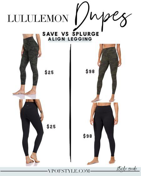 Lululemon align leggings dupes for $25 http://liketk.it/34UOf #liketkit @liketoknow.it #LTKfit #LTKunder50 #LTKstyletip