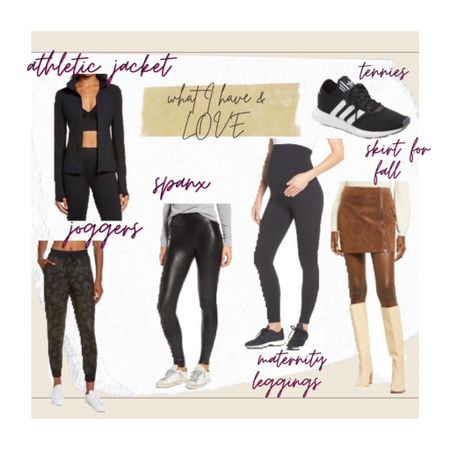 Items I have that are on sale. Size up in Spanx   @liketoknow.it.home @liketoknow.it.family #LTKfit #LTKstyletip @liketoknow.it #liketkit http://liketk.it/3jVrl #LTKbump        Maternity leggings  Athletic jacket Leggings  Zella Tennie shoes Corduroy skirt Fall looks Adidas Nsale Nordstrom  Nordstrom anniversary Sale
