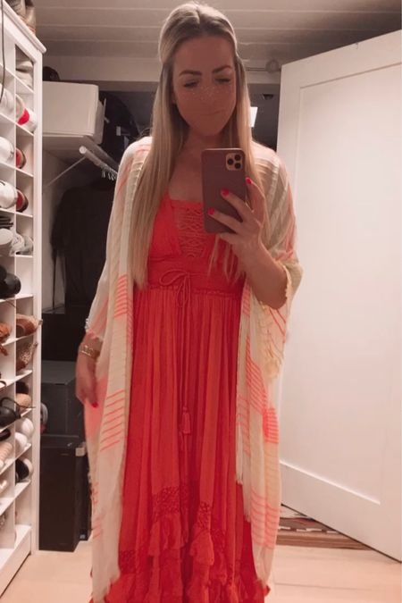Ready for our first party of the year 🥳 I am obsessed with this dress from Free People, I linked a few other favs for you guys! #summer #dresses #maxidress #vactionoutfits #LTKwedding #Freepeople #Weddingguestdresses #liketkit @liketoknow.it http://liketk.it/3dQ5M