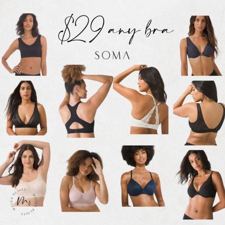 $29 any Soma bra http://liketk.it/3nUzd @liketoknow.it #liketkit #LTKunder100 #LTKunder50 #LTKsalealert